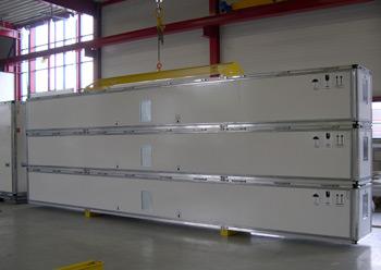 FB20 und FB45 Container für Langmaterial